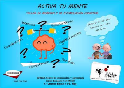 Taller de memoria y de estimulación cognitiva