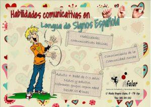 Habilidades Comunicativas en Lengua de Signos Española