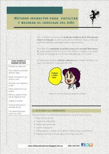 Métodos indirectos para facilitar y mejorar el lenguaje del niño
