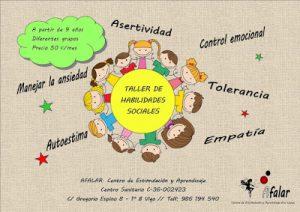 Taller de habilidades sociales para niños